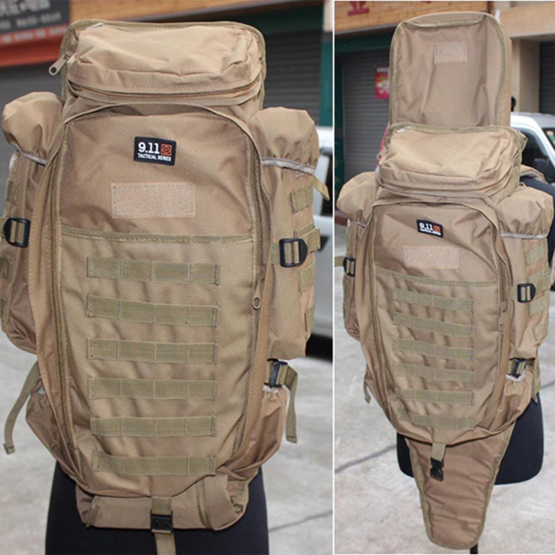 Military USMC Tactical Rifle M4 Backpack Carbine Carrying Bag Economy Shotgun Molle Hunting Gun Backpack Outdoor Airsoft Sports molle tactical military hunting usmc army molle hiking hunting camping rifle backpack bag high density nylon backpack