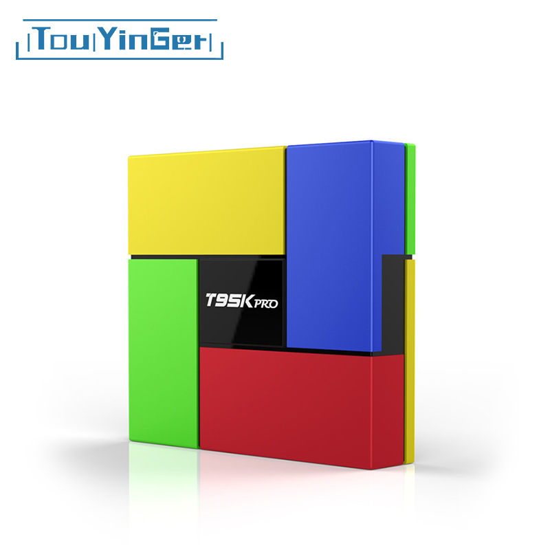 Touyinger BT4.0 Top-Box Media T95K Android Octa-Core PRO 4K Playe-Set Dual-Wifi Amlogic S912