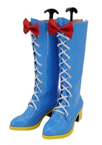 Mon petit poney amitié est magique Pinkie Pie Cosplay chaussures femmes bottes