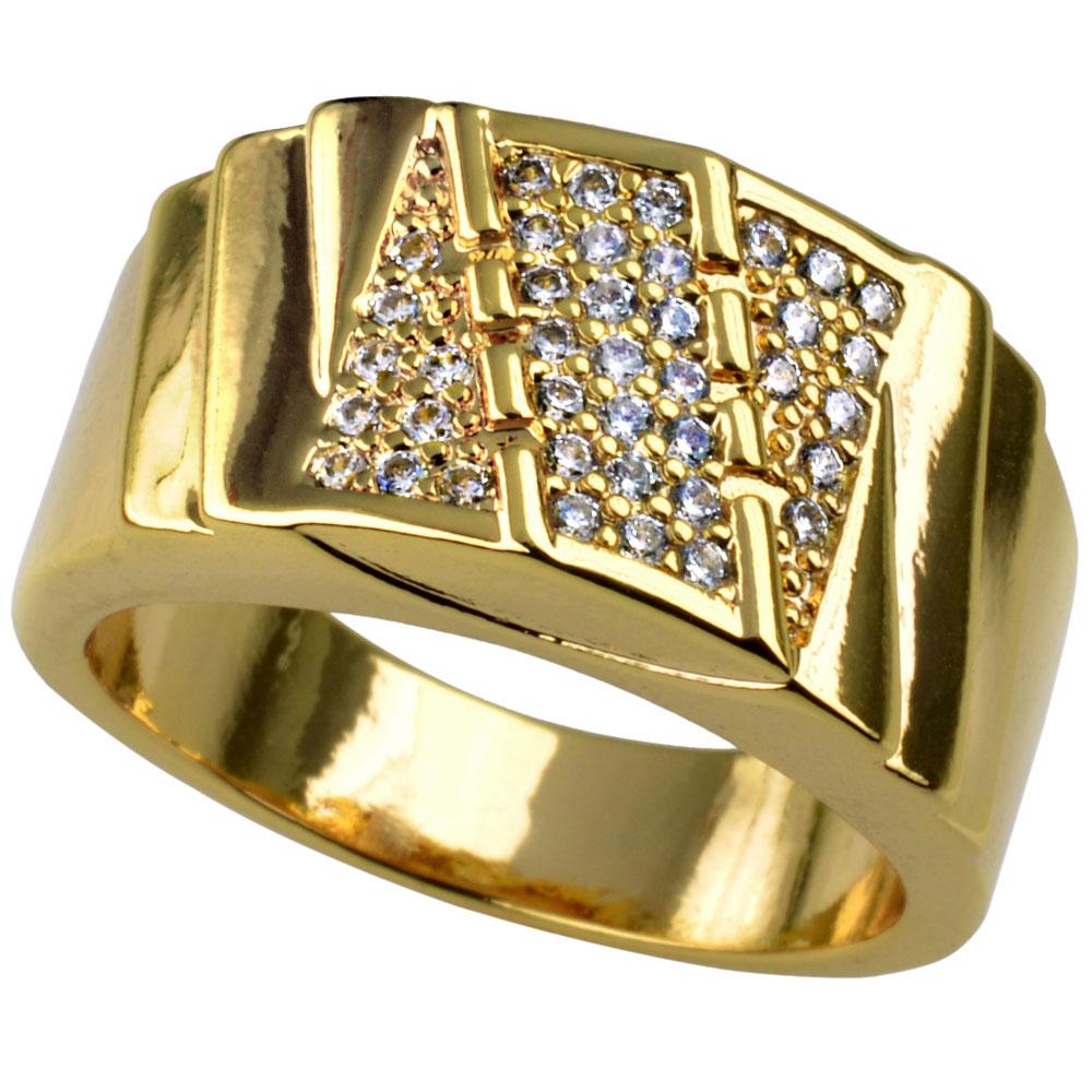 Men wedding trendy ring (SIZE S-Z+5) R211
