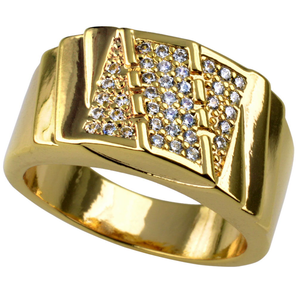 Men  wedding trendy ring   (SIZE S-Z+5) R211
