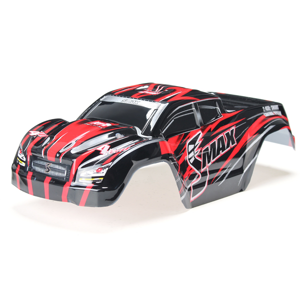 REMO D3602 1/16 Red Monster Truck Body Shell RC Car Part remo hobby 1631 1 16 4wd rc brushed truck rtr