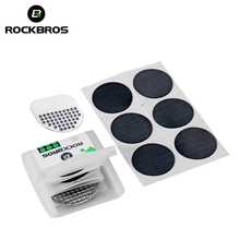 ROCKBROS Bicycle Inner Tire Repair Kits Portable Bike Puncture Maintenance Tire Tyre Round Rubber Patch MTB Cycling Repair Tool