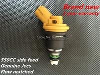 High Performance 550cc Fuel Injector Fuel Nozzle JECS Side Feed Subar WRX STI Impreza Legacy Forester