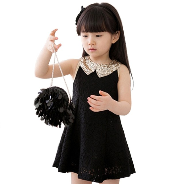 8483feba663d 2016 New Kids Dresses For Girls Elsa Dress Baby Kids Childrens Girls ...