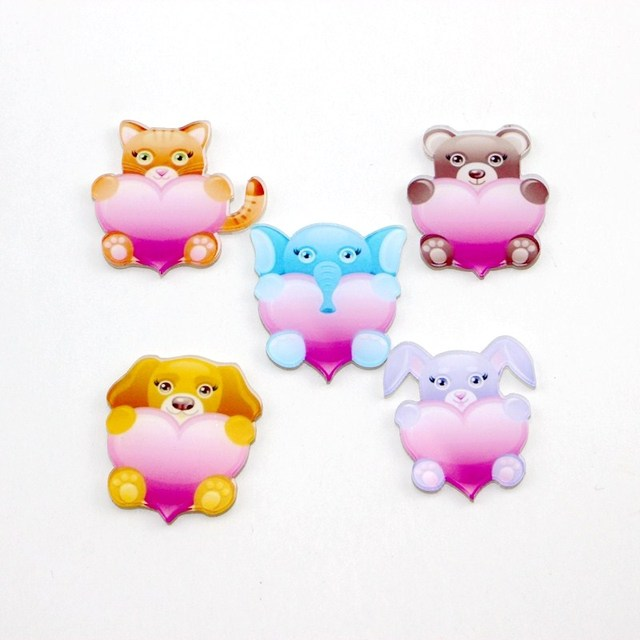 Home Decor Wholesale cute carton animal fridge magnets colorful Fashion aimant Refrigerator Sticker magnet New Arrival