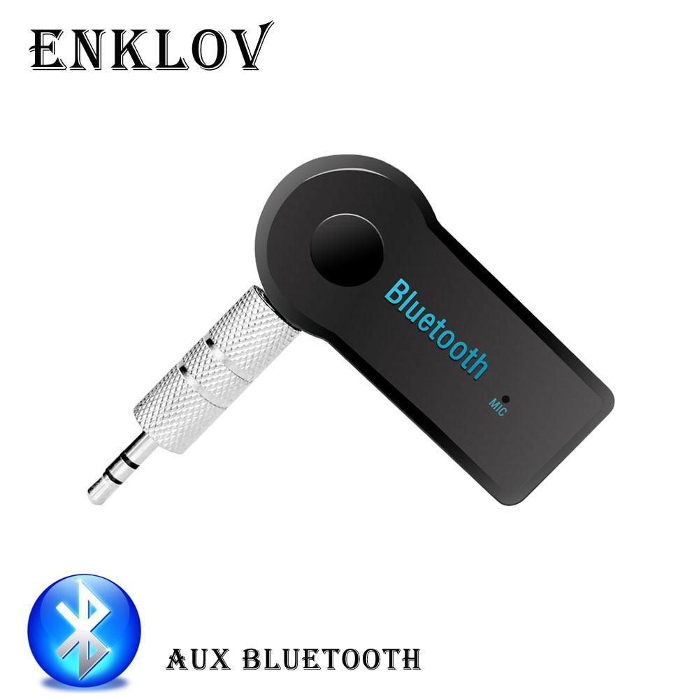 ENKLOV  Handsfree AUX Bluetooth Receiver Bluetooth C Speaker Receiver Bluetooth Auxiliary AUX Receiver Car Bluetooth Adapter bluetooth