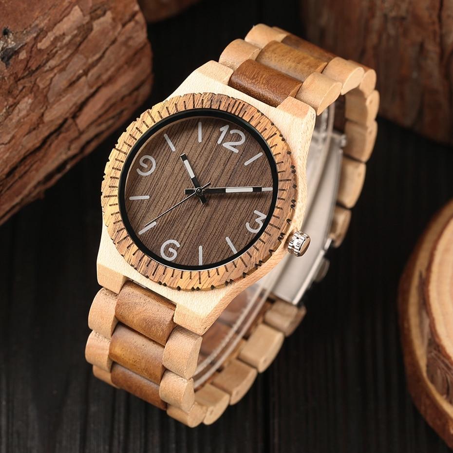 Minimalist Retro Full Wooden Watches Women Men Bamboo Wood Bracelet Fashion Creative Quartz Wristwatch Handmade Gifts Clock Hour 2018 (21)