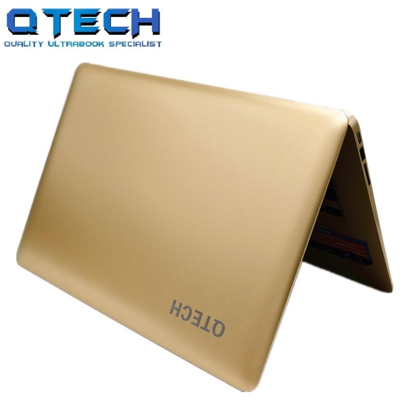 8GB RAM 64 SSD+750GB HDD Ultrabook Windows10/7 Laptop Computer Fast CPU Intel 4 Cores Slim AZERT German Spanish Russian Keyboard