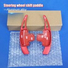 2pcs Aluminum Steering Wheel Shift Paddle Shifter Extension For Benz A B E GLK SLK M GL Class 13-15 стоимость