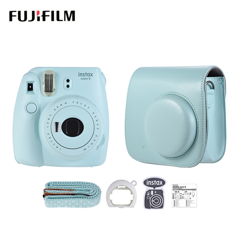 Fujifilm instax mini 9 instant photo mini camera disposable film camera photocamera pop-up lens auto metering with films sets