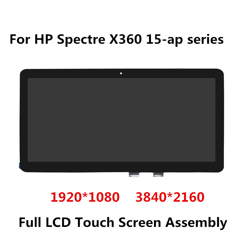 15.6 LCD LED Display Touchscreen Digitizer Assembly For HP Spectre X360 15-ap 115-ap012dx 15-ap000na 15-ap003ng 15-ap006ng