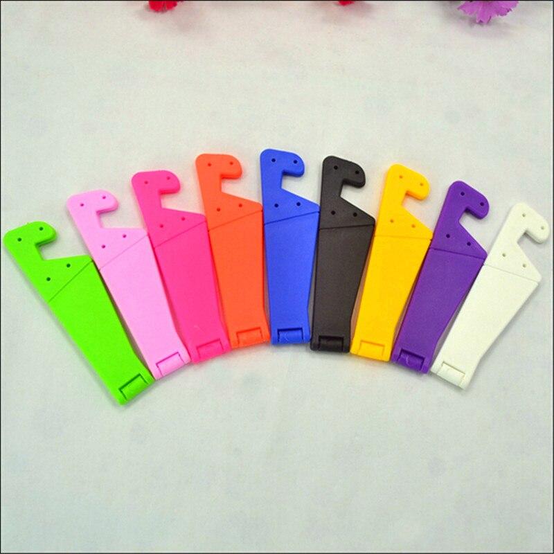 UVR Universal Foldable Mobile Cell Phone Stand Holder For All Smartphone Style & Tablet Adjustable Support Phone Holder Desk#
