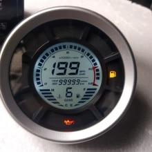 12000RPM 199 km/h لوحة تحكم شاملة في التلفزيون الإل سي دي الرقمية عداد السرعة عداد المسافات اسطوانات والعتاد عداد المسافات عداد الدوران رحلة متر