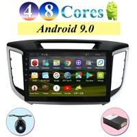 android 9.0 2 din car dvd gps player For Hyundai IX25 Creta Car gps navigation radio Multimedia Player tape recorder 4G+64G
