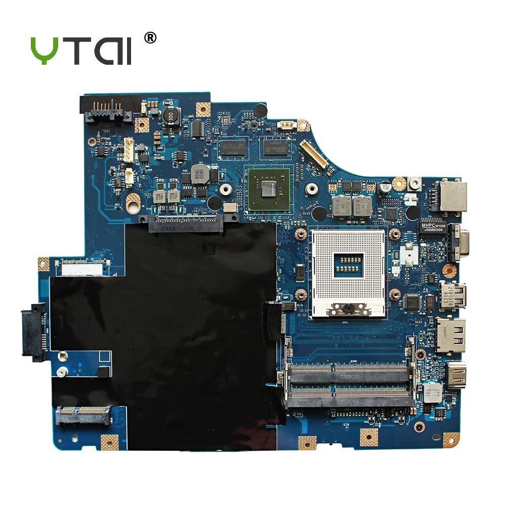 все цены на YTAI LA-5752P REV:1.0 for Lenovo G560 Z560 laptop motherboard NIWE2 LA-5752P REV:1.0 GT310M DDR3 HM55 mainboard fully tested онлайн