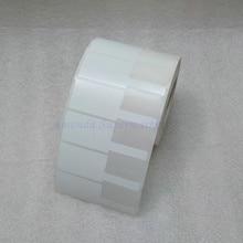 ネットワークケーブルラベルステッカー70*24ミリメートル1000ピースペット素材ホワイト色p形状防水耐引裂性