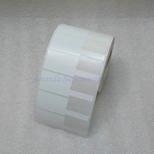 Image 1 - Network Cable Label Sticker 70*24mm 1000 Pieces PET Material White Color P Shape Waterproof Tear resistant