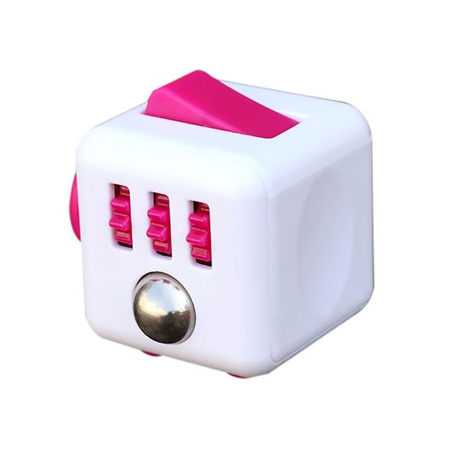 Mini Fidget Cube Finger Toys Squeeze Magic Cube Anti Reliever Gift Fun Stress Reliever 3.3cm High Quality Antistress Cubes