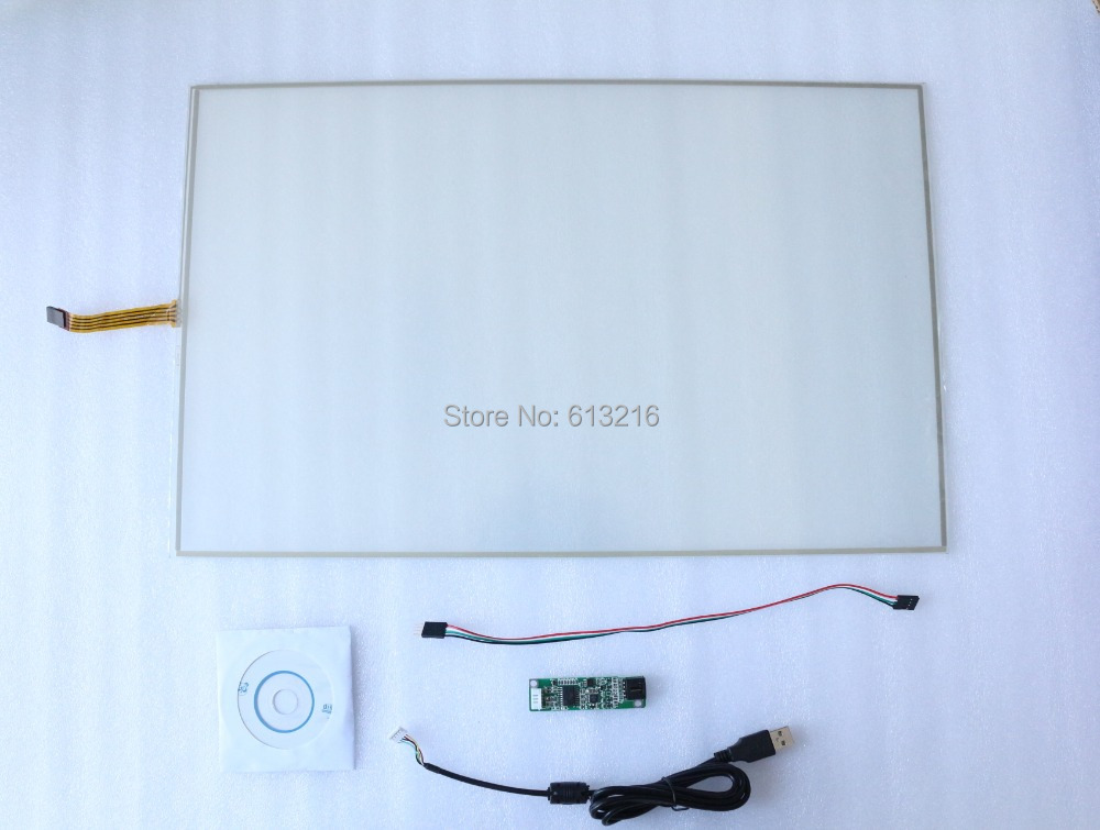 22 inch 16:10 4-Wires Resistive Touch Panel + USB Controller card +Driver CD ROM work with 22 inch LCD panel dvs dsl 710a cd rom dsl710a dsl 710a cd driver new original f w lt7 9