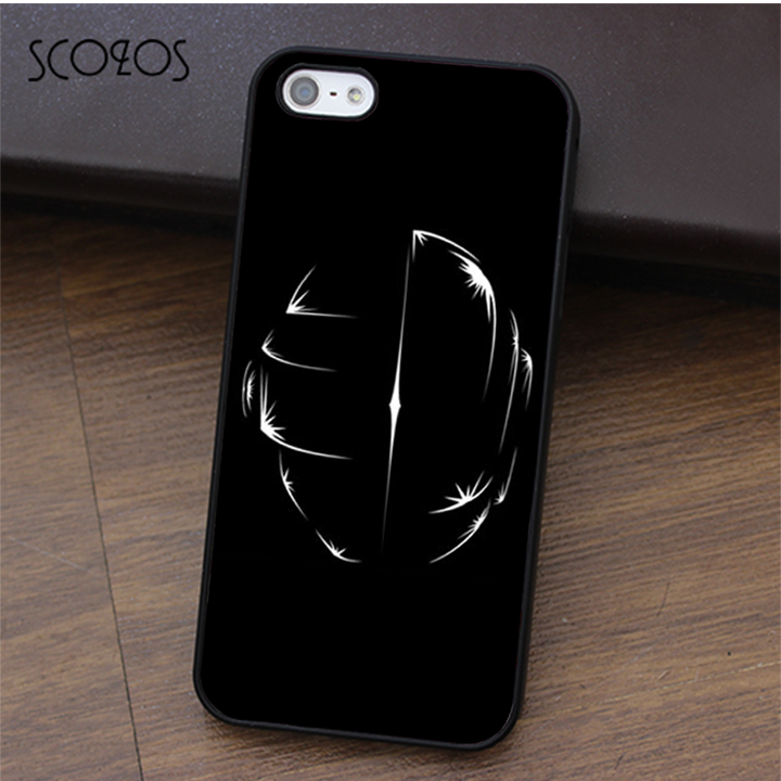 SCOZOS Daft Punk fashion cell phone case cover for iphone X 4 4s 5 5s Se 5C 6 6s 7 8 6&6s plus 7 plus 8 plus #ca168