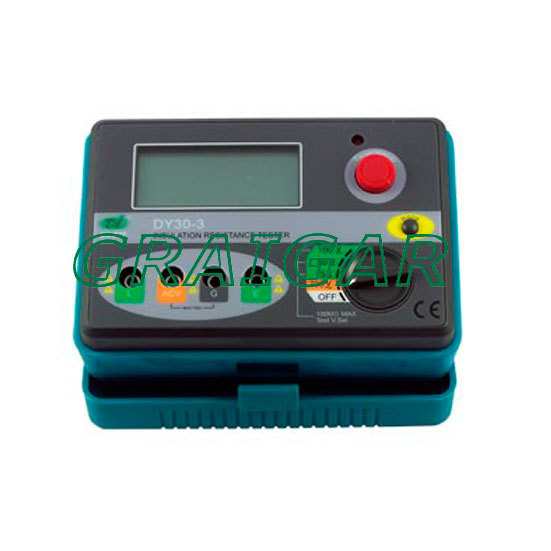DY30-1/DY30-2 Digital Insulation Resistance Tester 30 3000r