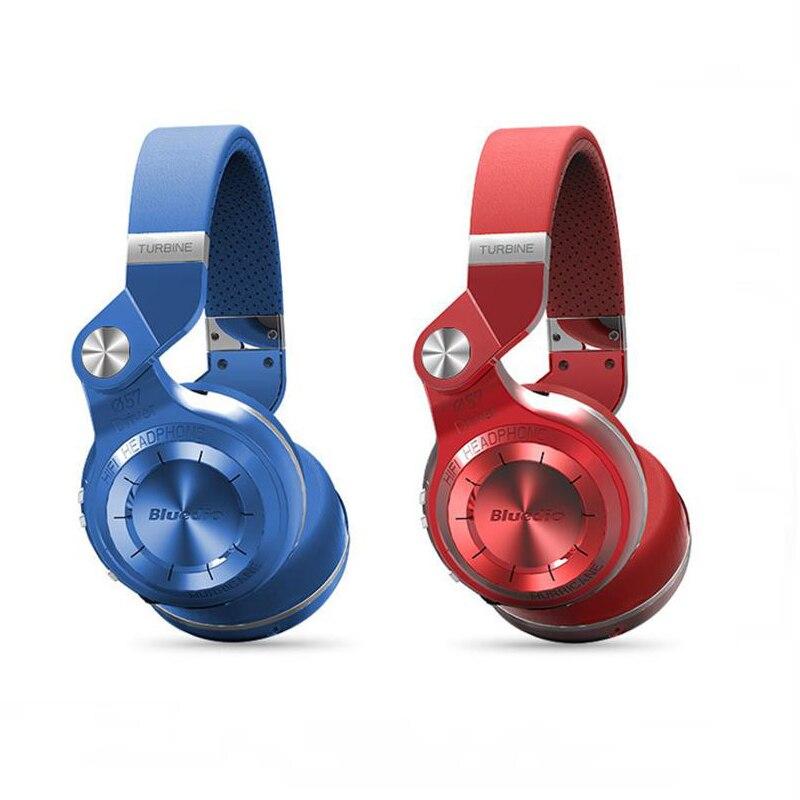 Bluedio T2 frein de tir sans fil bluetooth 4.1 casque stéréo micro pliant pour mains libres appels téléphoniques et musique en streaming