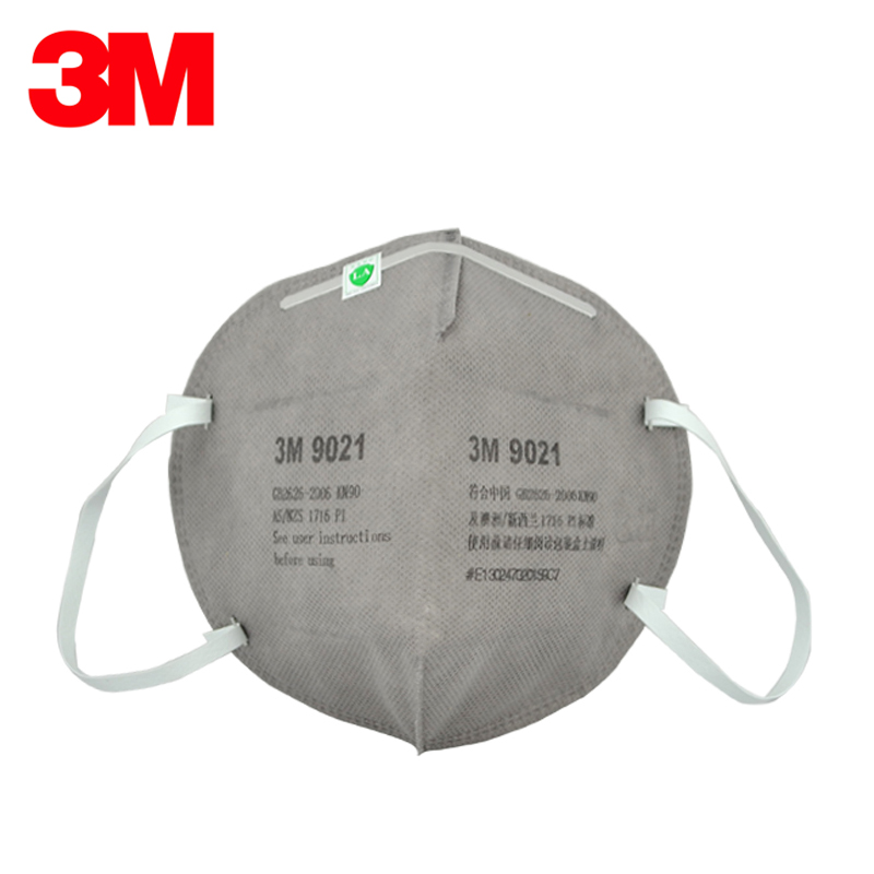 3M 9021 Safety Mask Dust masks KN90 Standards Certificated By LA Folding Respirator Dust mask Anti PM2.5 LT076