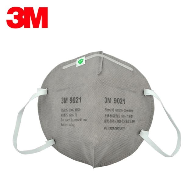 3M 9021 Safety Mask Dust masks KN90 Standards Certificated By LA Folding Respirator Dust mask Anti PM2.5 LT076