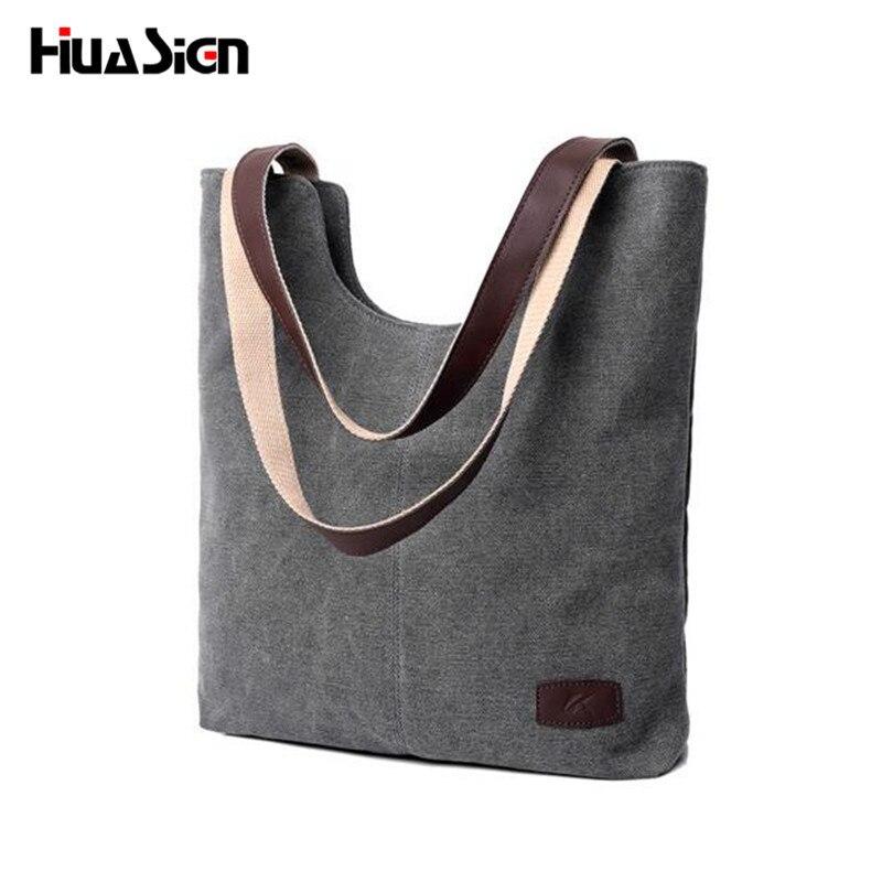 Huasign Big Canvas Bag Retro Handbags Messenger bags for Women large capacity Handbag Shoulder Bags все цены