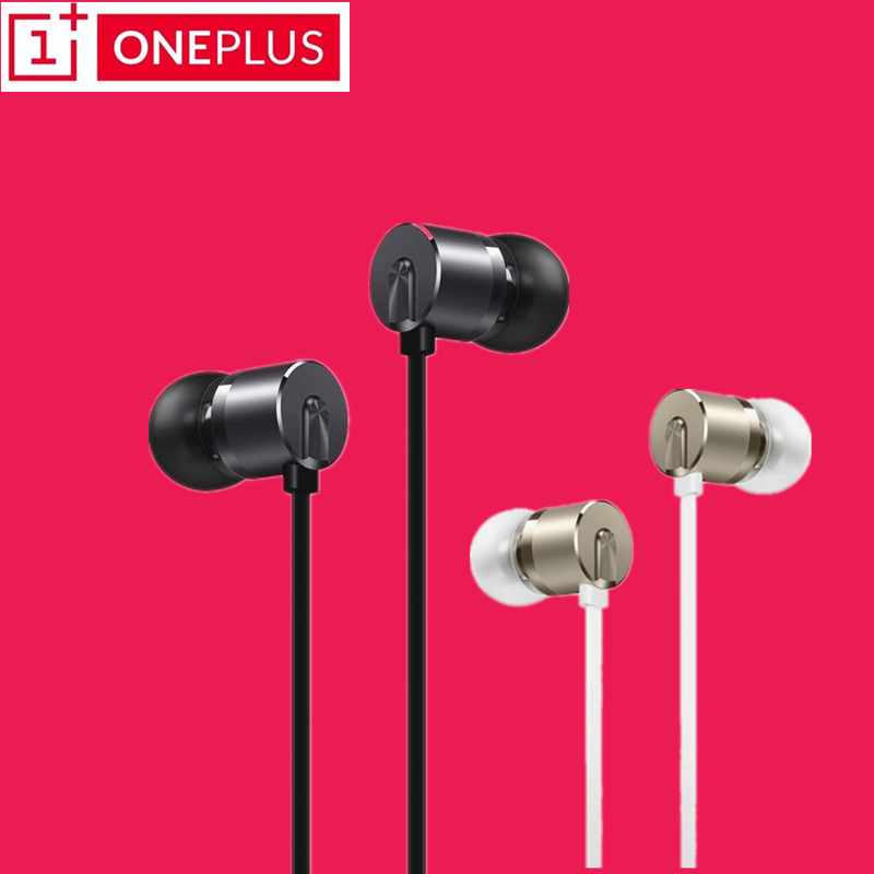 Original OnePlus 6 Bullets V2 In-Ear Earphone Headset With Remote Mic for One plus 5T 5 3T 3 Mobile Phone samsung huwei xiaomi 50pcs wholsale genuine honor am12 engine earphone with mic 3 keys drive by wire 3 5 mm earphone for iphone 6 xiaomi mobile phone