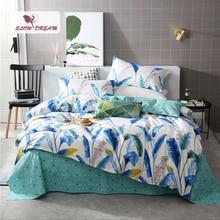 SlowDream Fashion Art Reed Bedding Set Elegant Light Luxury Duvet Cover Active Printing Bed Linen Bedclothes Multi Sizes