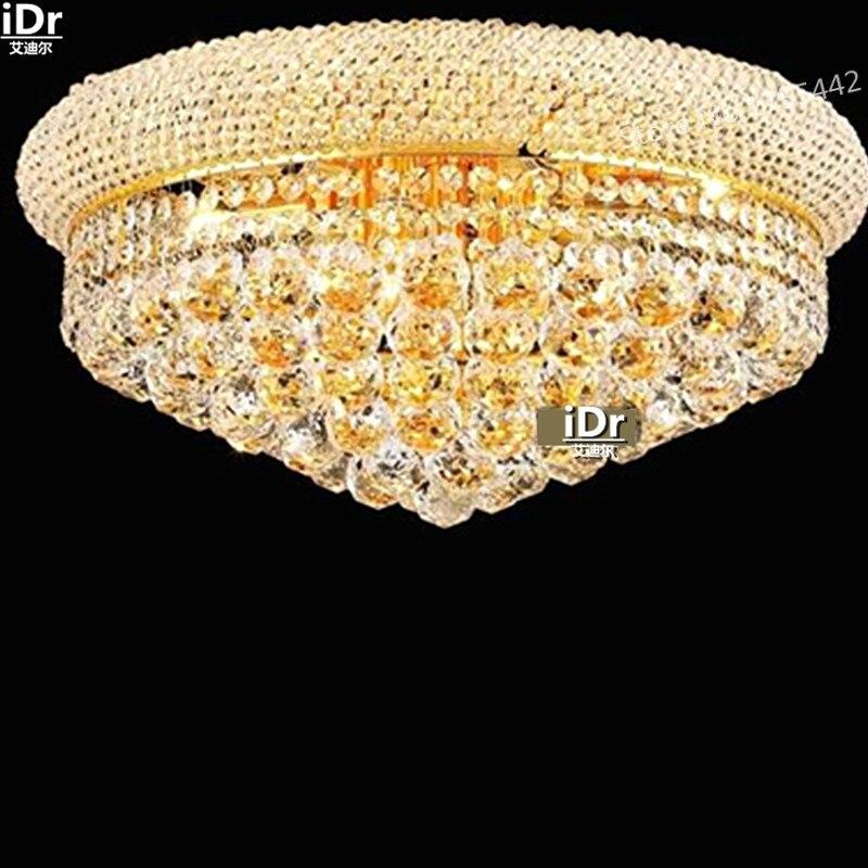 Gold Deckenleuchten Lampe Schlafzimmer Minimalistischen Retro Hotel Lobby Flurbeleuchtung D50cm X H25cmChina