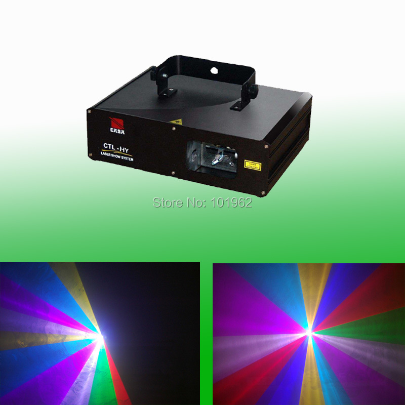 Hot 2W RGB Full Mix Color Projector DJ Disco Light Stage DMX Party Laser Lighting Show rg mini 3 lens 24 patterns led laser projector stage lighting effect 3w blue for dj disco party club laser