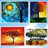 Digital Diy Oil Painting By Numbers Wall Decor Picture On Canvas Oil Paint Coloring By Number