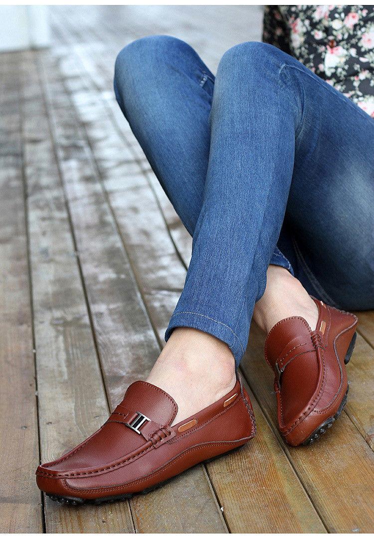HN 1128 (10) Men`s Casual Loafers Shoe