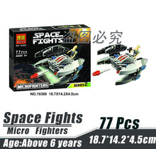 Bela 10360 Star Wars Space Wars Micro Fighters Clone Warship Minifigures Building Block Minifigure Toys Compatible with Legoe