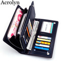 Men Day Clutches Wallet New Leather Handbag Ultra-thin Hand Bag Mobile Phone Bag Men's Zipper Wallets
