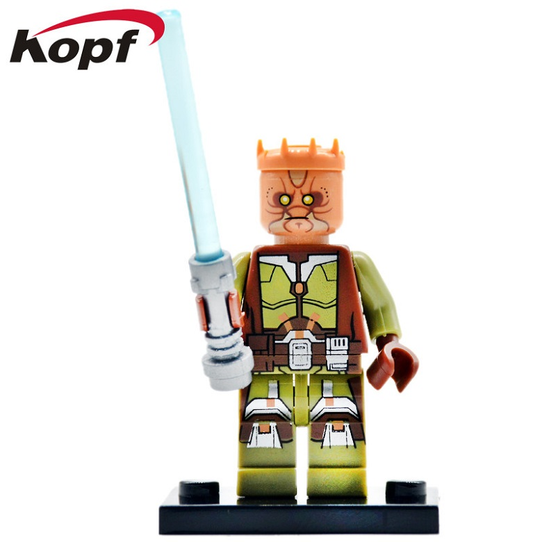 50Pcs Building Blocks Wars Jedi Knight Wars Knights of the Old Republic Luke Skywalker Bricks Figures Toys for children PG650(China)