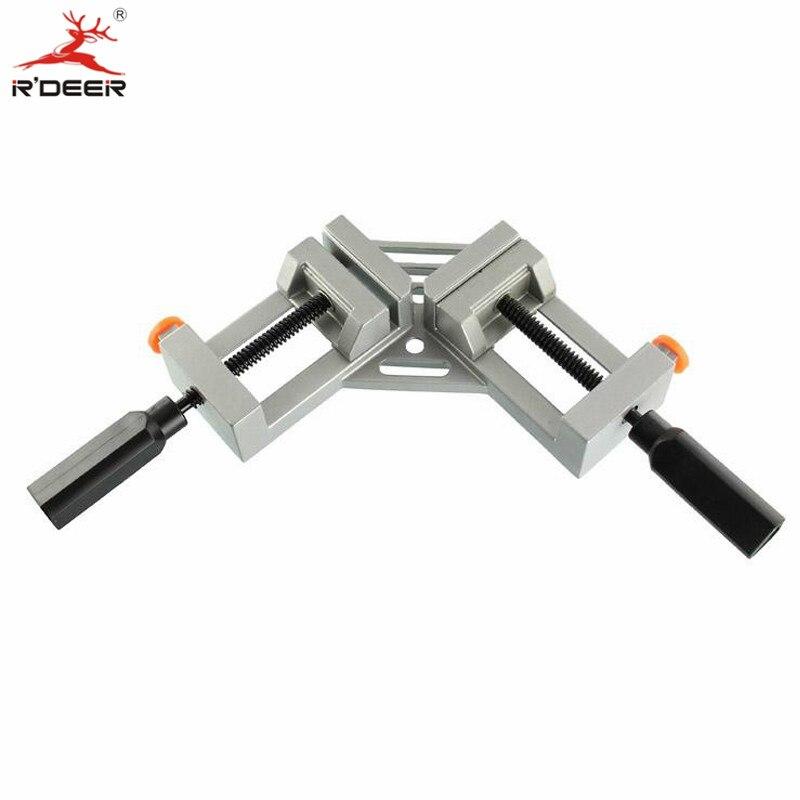 RDEER Vise Aluminum Alloy Manual Table Vise Multifunction Milling Machine Bench drill Vise Worktable