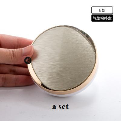 free shipping A set / A set+replaced inner core+puff golden DIY Air cushion BB empty box,replacement packing calm makeup bottles