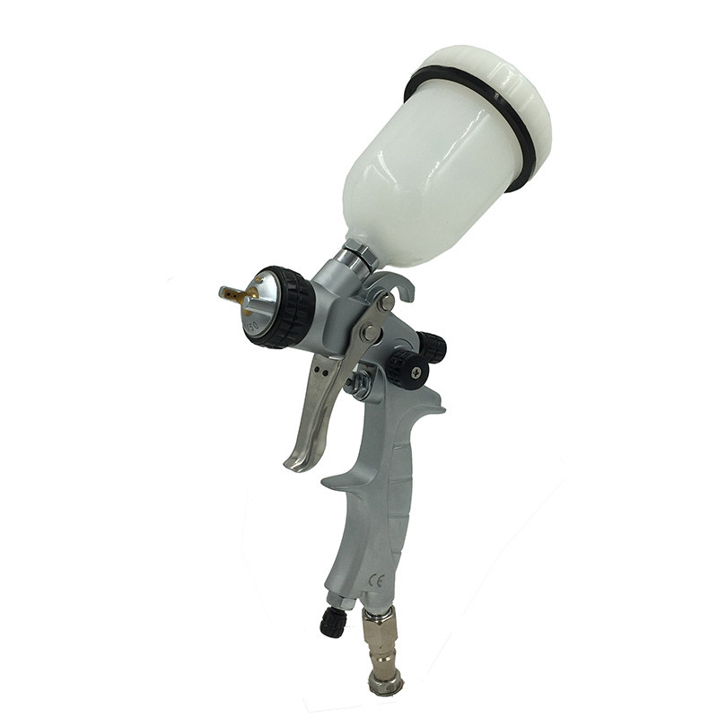 SAT1216M professional high quality mini airbrush spray guns nozzle 1.0 for car painting pneumatic machine