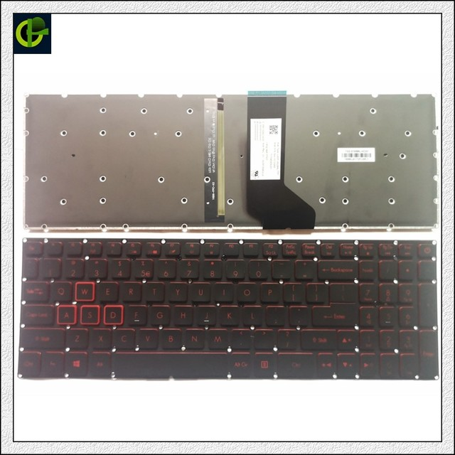 ew backlit English Keyboard for Acer Nitro 5 AN515 AN515 51 AN515 52 AN515 53 AN515 41 AN515 42 AN515 51 5594 AN515 31 N16C7 US