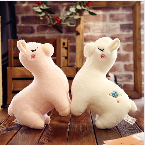 WYZHY Creative alpaga poupée en peluche canapé chambre décoration pour envoyer des amis et des enfants cadeaux 60 CM