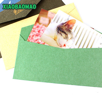 10 pcs thick high-grade commercial quality Paper Envelope Envelopes Vintage European Style For Card Scrapbooking Gift Office 1