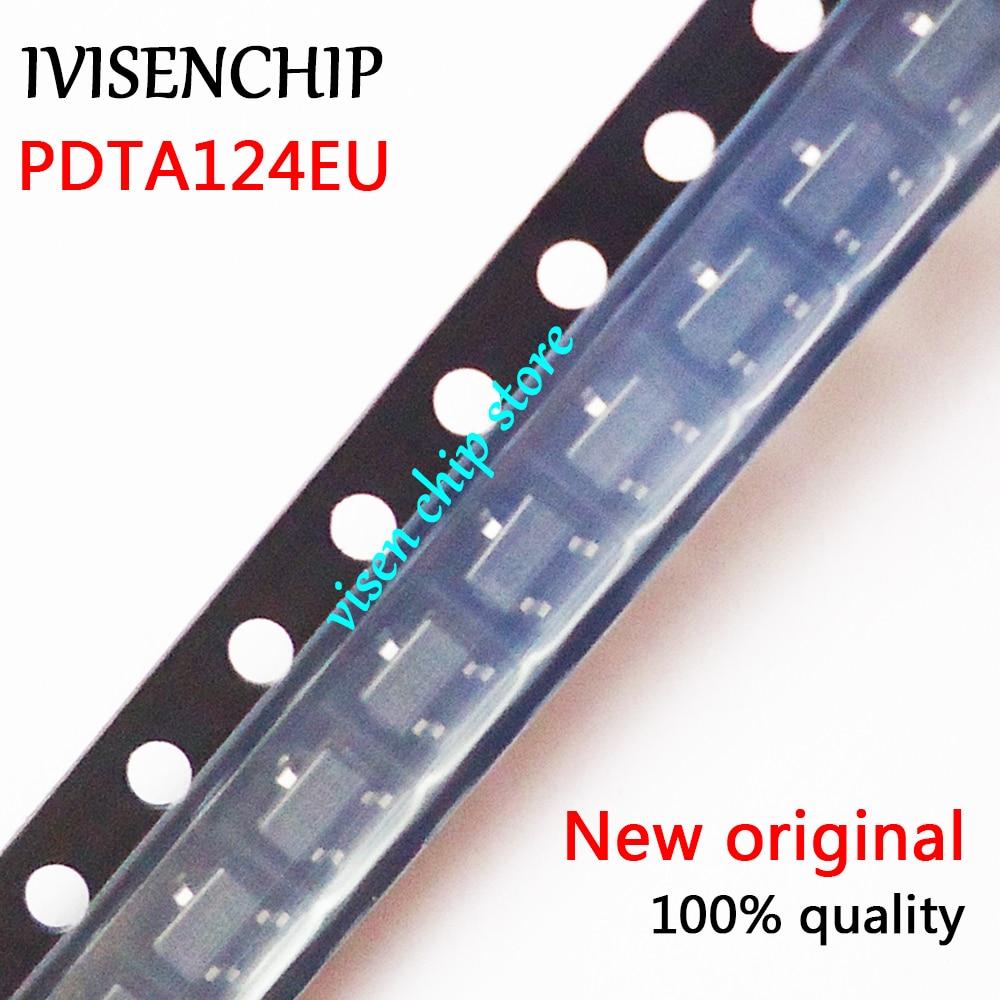 10pcs PDTA124EU PDTA124 T05 SOT-23