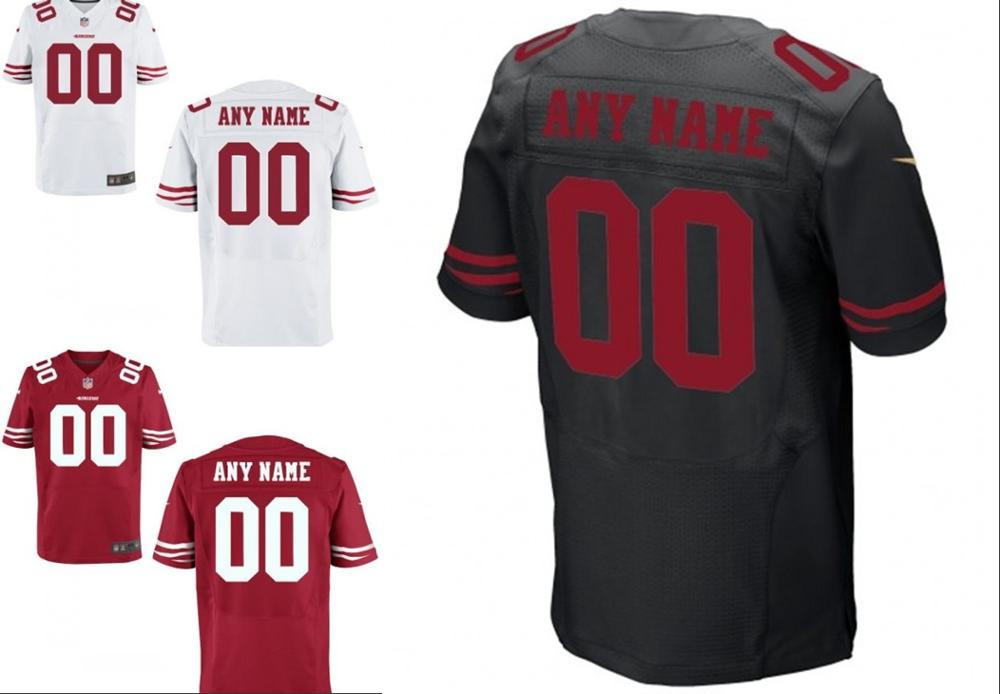 Youth San Francisco 49ers #74 Joe Staley Red Stitched Jersey