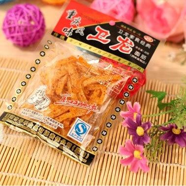 chinese spicy snack food Hot strip/Spicy Strips/spicy gluten sticks