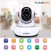 Floureon Q3 IP Camera WIFI Onvif P2P Phone Remote 720P Home Security Baby Monitor 1 0MP