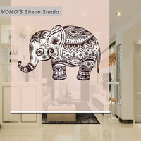 MOMO Blackout Window Curtains Roller Shades Blinds Shutter Thermal Insulated Fabric Custom Cartoon Kids Baby , Alice 342